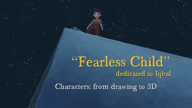 DiscoveringFearlessChild_Characters